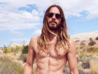 jared leto shirtless abs