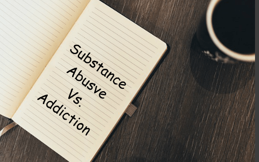 drug addiction vs dependence